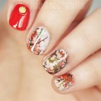 Cherry blossom nail art by Madeleinails - Nailpolis ...