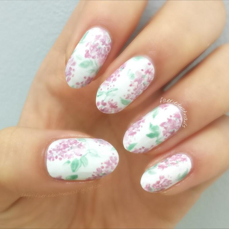 Lilac Nails Nail Art By Shirley X Nailpolis Museum Of