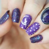 Goodnight Moon Fairy nail art by Kimett Kolor - Nailpolis ...