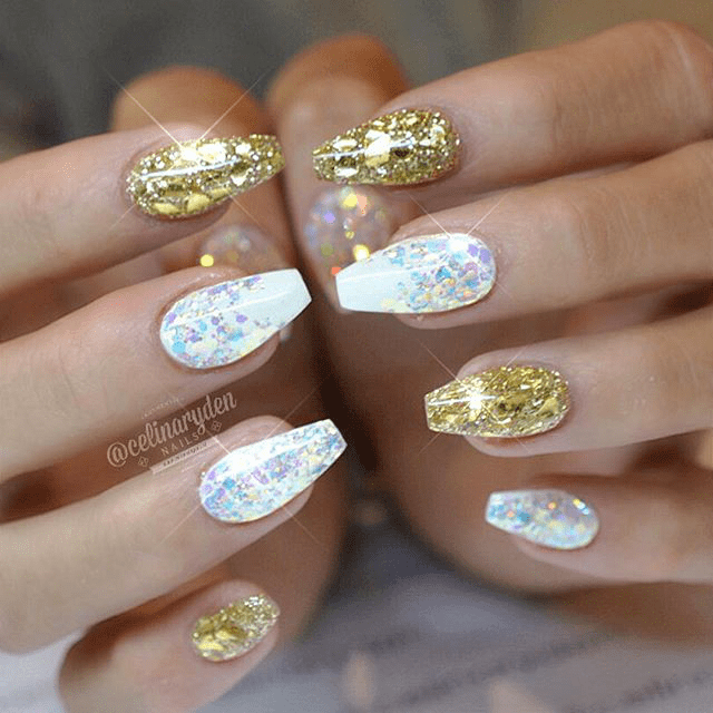 Ombre Hair Technique Step By Step Nail Art Nail Designs New Year 39;s Eve Nails