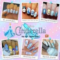 Cinderella Nail Art Collab | nailsbyhoneycrunch321