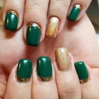 Green Nails:Olive Green,Mint,Lime Shades | NAILSPIRATION