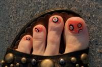 Halloween Toe Nail Designs   nail toe beauty