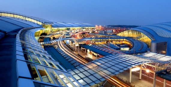 10 Most Beautiful Airports in the World 2016
