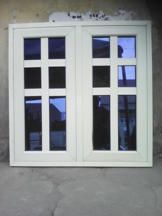 Design Toilet Professional Aluminum Windows, Burglary Proof Works