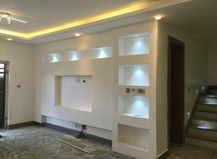 Tv Wandgestaltung False Ceiling And Tv Walls (pictures) - Properties - Nigeria