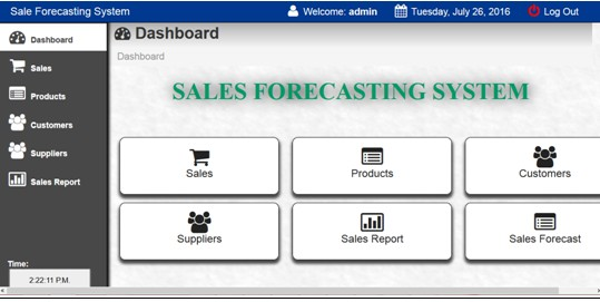 DESIGN AND IMPLEMENTATION OF A SALES FORECASTING SYSTEM USING LINEAR - Sales Forcast