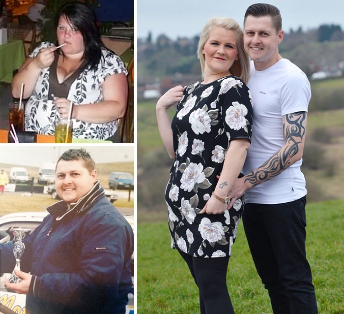 20 Before and After PHOTOS of Couples Who Lost Weight Together