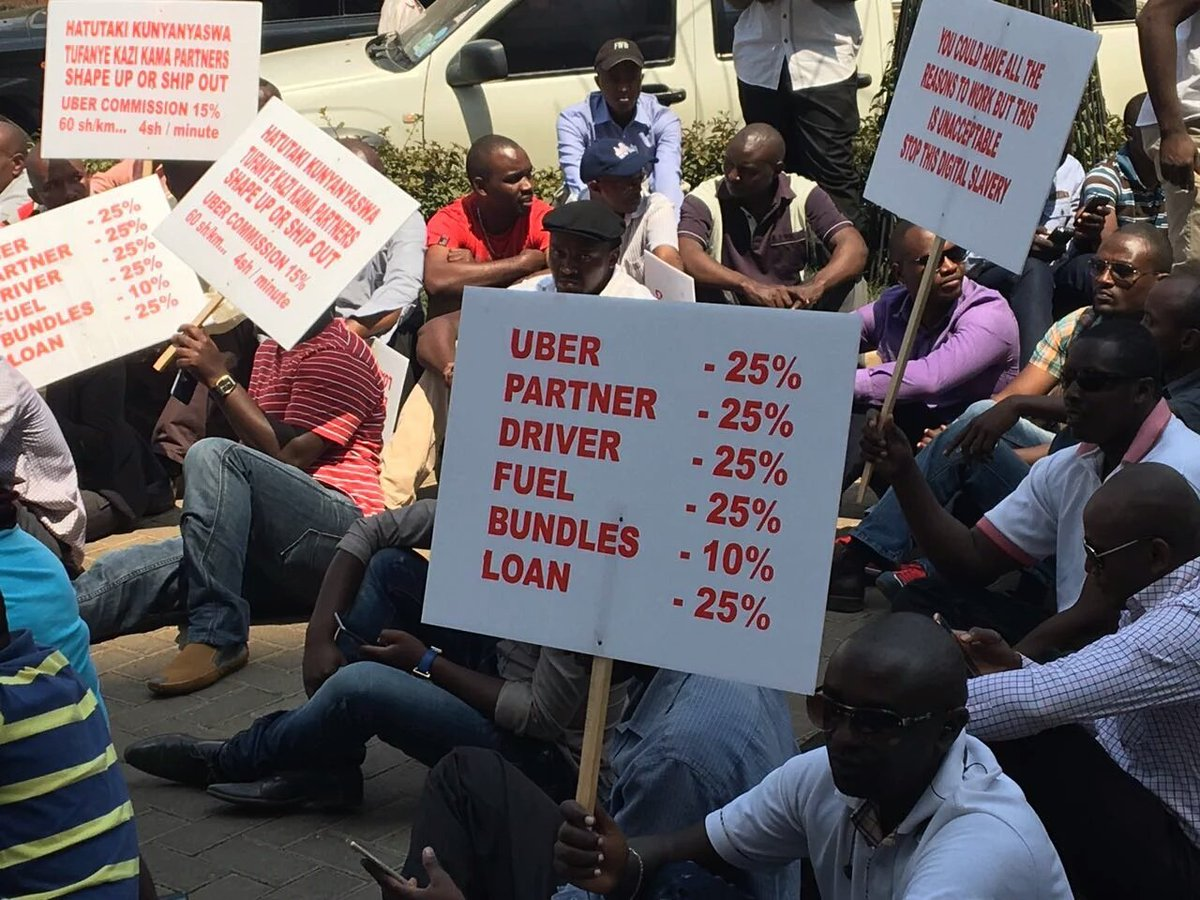 Placard But Kenyans Can T Count See The Calculations On This Placard During