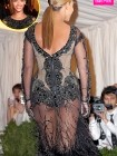 Beyonce See-Through Dress (Photo)