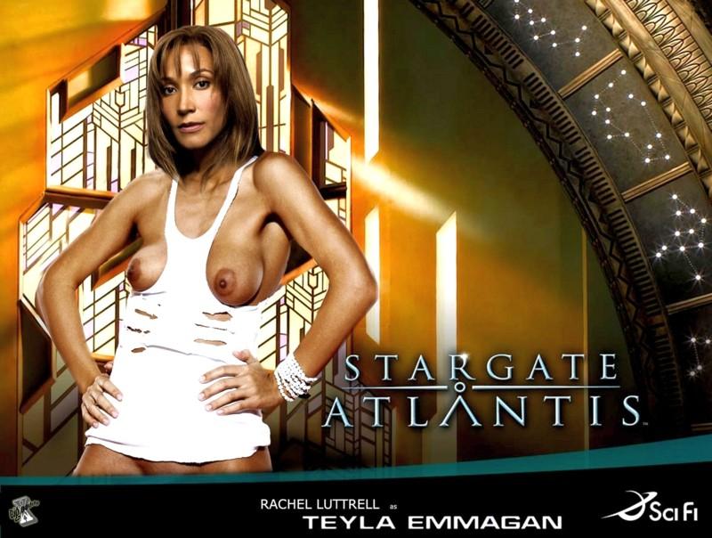 Atlantis nude Stargate rachel luttrell