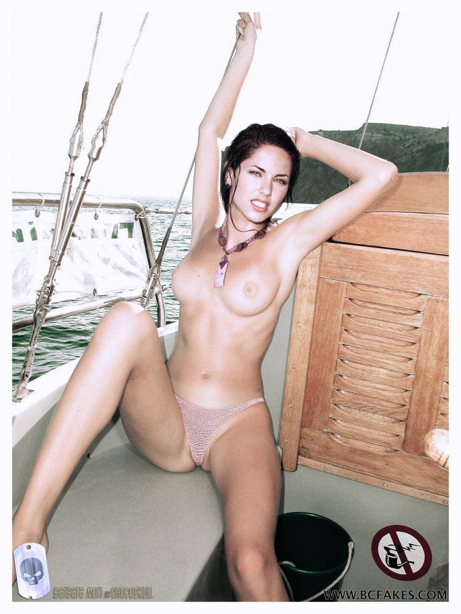 Nude mori Naoko Mori