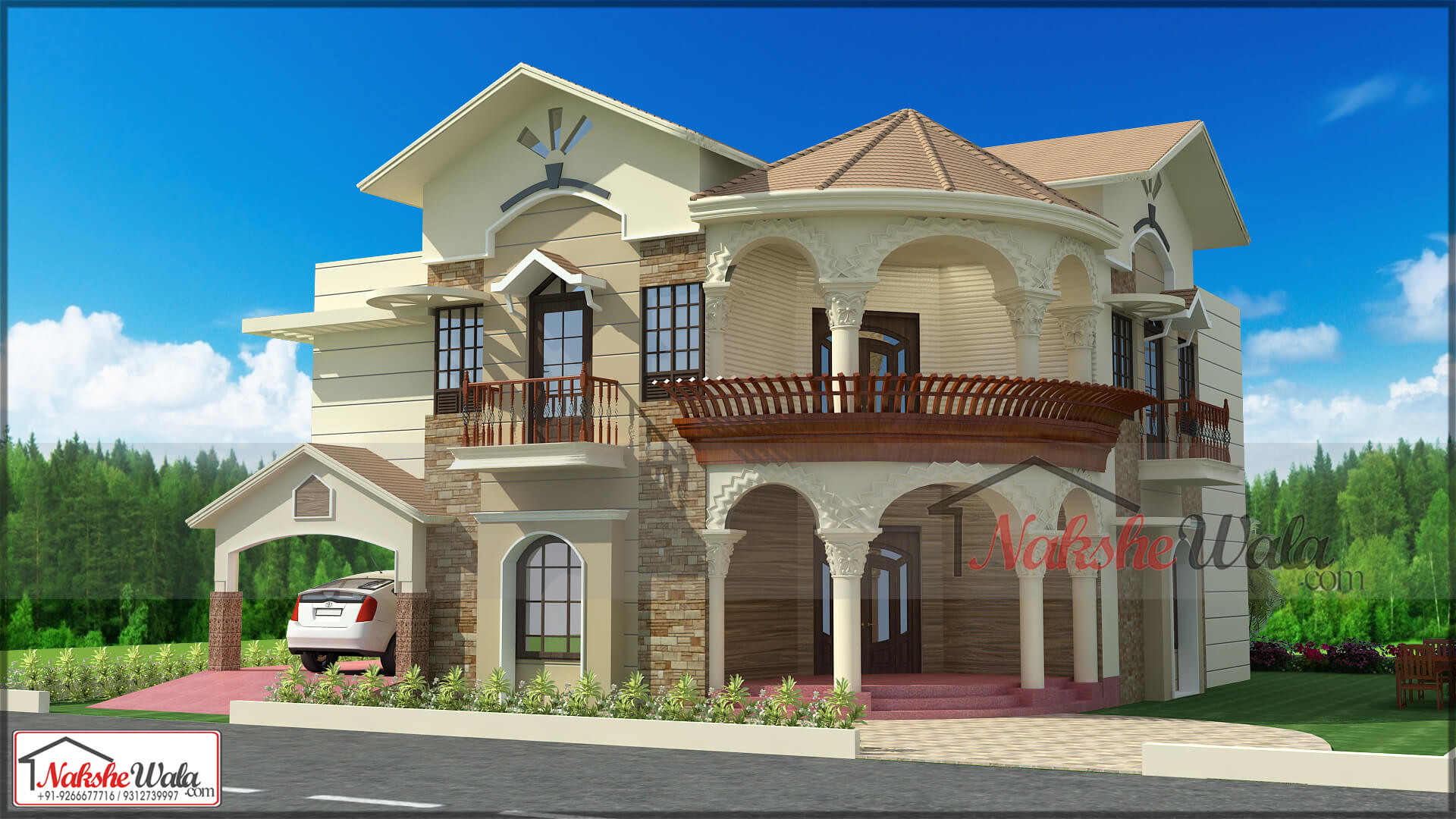 Home Design Of India House Design Floor Plan House Map Home Plan Front