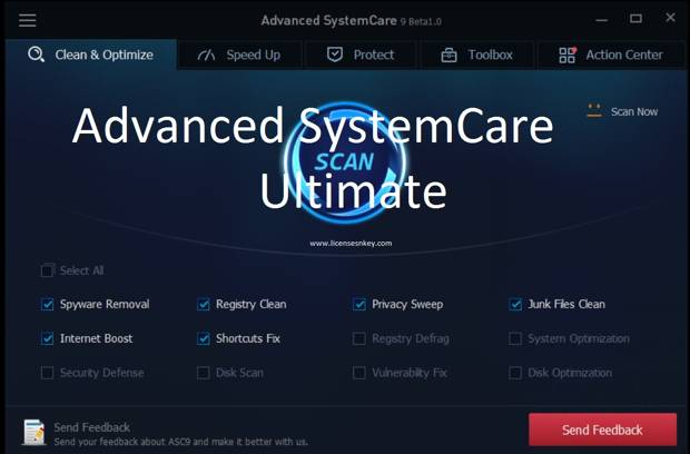 Advanced SystemCare Ultimate 9