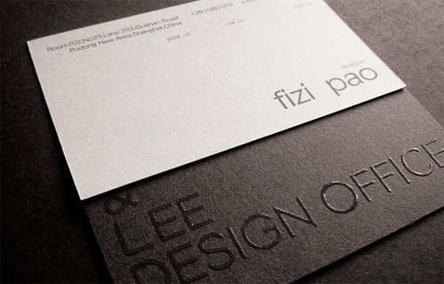 30 Sophisticated Embossed Business Cards Naldz Graphics