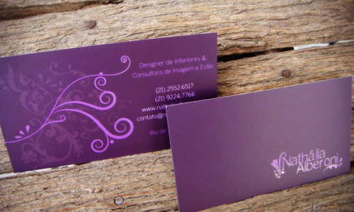 30 Simple Yet Informative Purple Business Cards Naldz Graphics