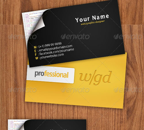 50 Cool Premium Business Card Templates Naldz Graphics