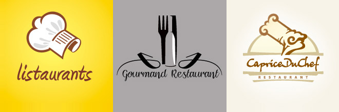 40 Attractive Designs of Restaurant Logo for your Inspiration