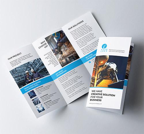 30 Creative Examples of Tri-Fold Brochure Designs Naldz Graphics - tri brochures