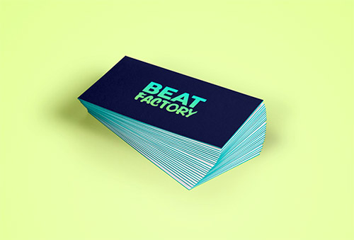 30+ Beautiful Examples Of Gradient Business Cards Naldz Graphics