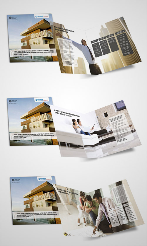 A Collection of Effective Real Estate Brochure Designs and Layouts