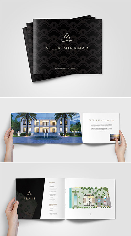 A Collection of Effective Real Estate Brochure Designs and Layouts - property brochure