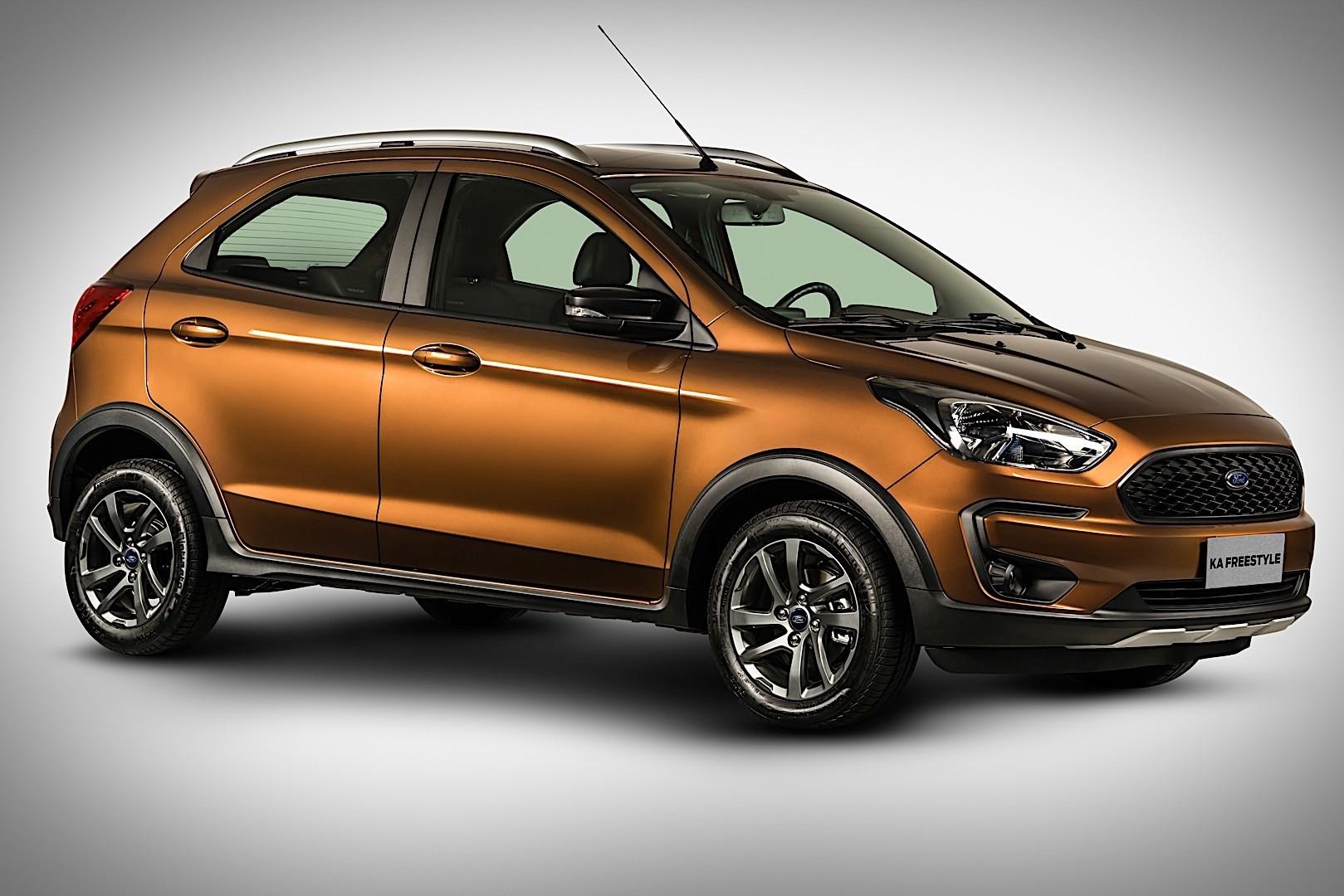 Bmw Concept Car Wallpaper Ford Ka Active Oficjalnie Namasce
