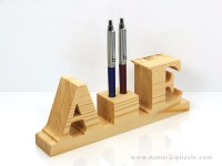pen holders   Unique 3d name puzzles - best personalized gifts