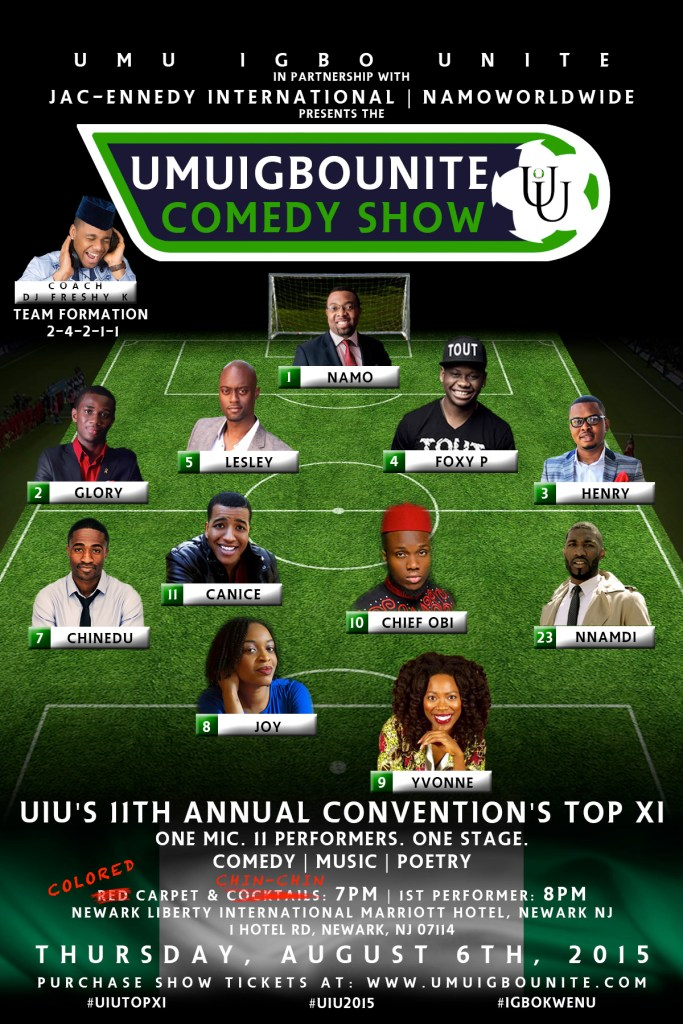 UIU 2015 Comedy Show — UIU Top XI