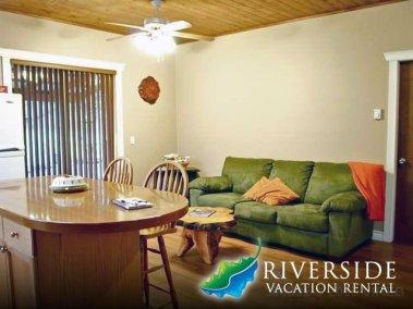 Living Room and Island