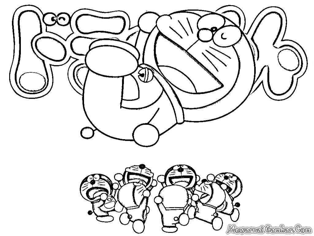 Dunia Mewarnai Gambar: Mewarnai Gambar Doraemon Dan Nobita