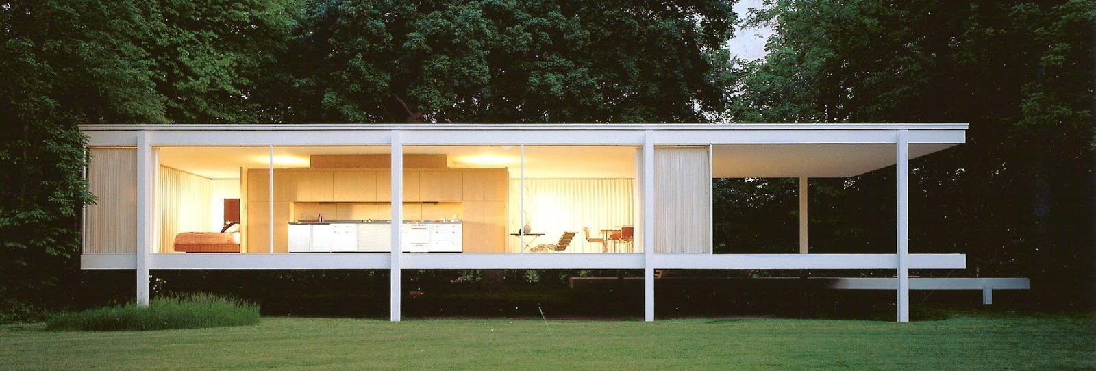 Van Der Rohe The Marvelous Masterpieces Of Ludwig Mies Van Der Rohe Nanawall