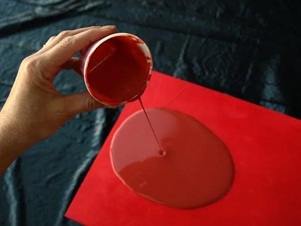 How To Make Acrylic Paint Look Like Enamel Nancy Reyner
