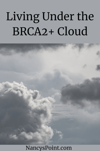 生活在brca2 + cloud #cancer #heriditiccancer #brca #breastcancer