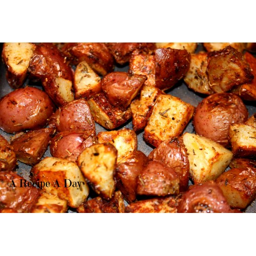 Medium Crop Of Fried Red Potatoes