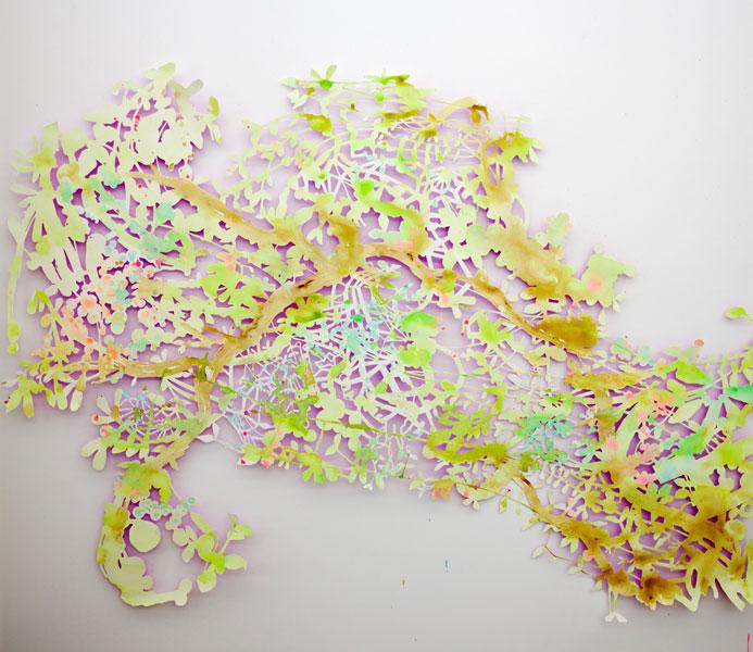 03_w_Chris_Natrop--Liminal_Nimbus-Lilt,_2016_(Detail_1)_9ft_x_36ft_Acrylic,_Aluminum_Powder,_Glitter_on_Paper