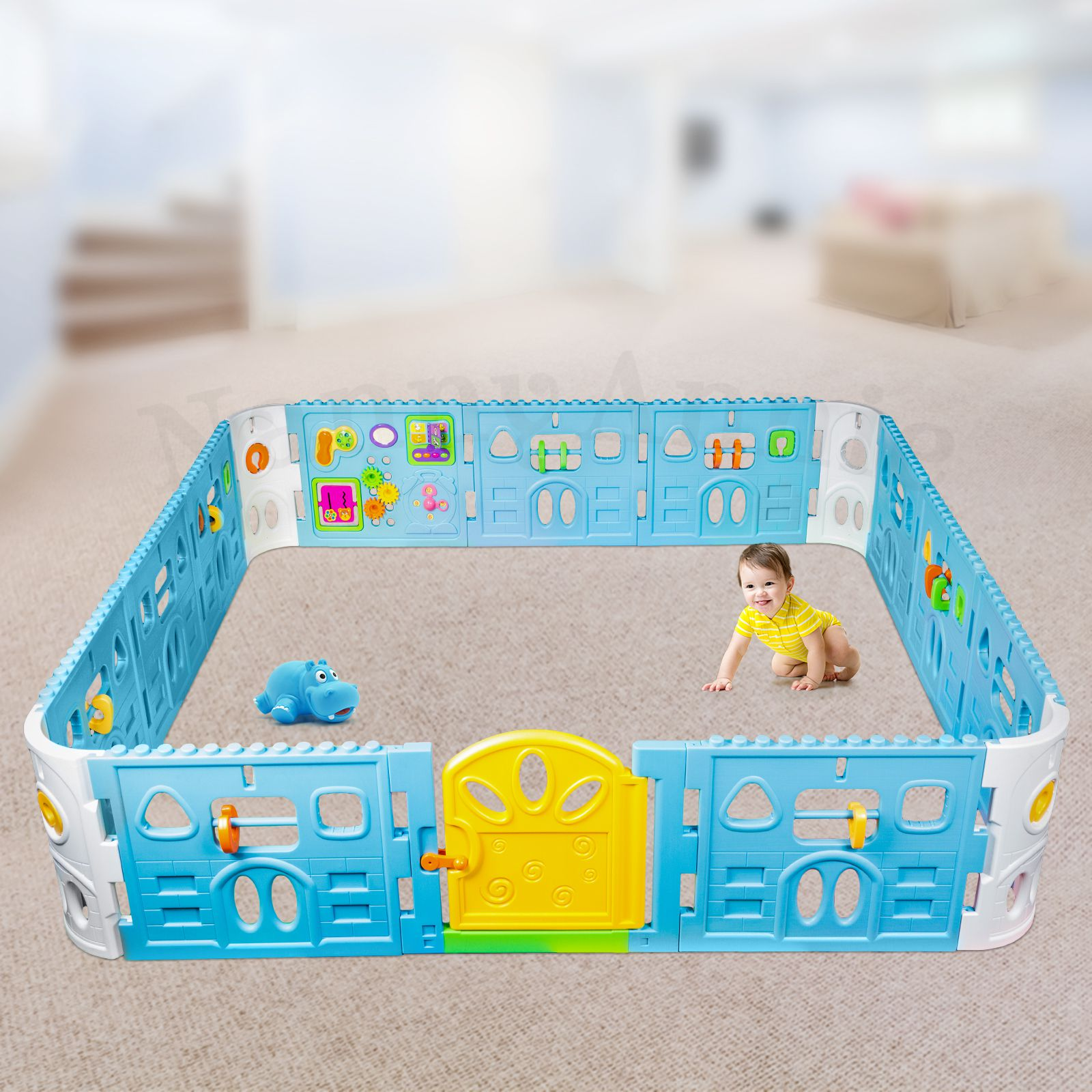 Baby Playpen How Baby Playpen With Door Super Giant Interactive Play Room 2 3 X 2 3m Nanny Annie