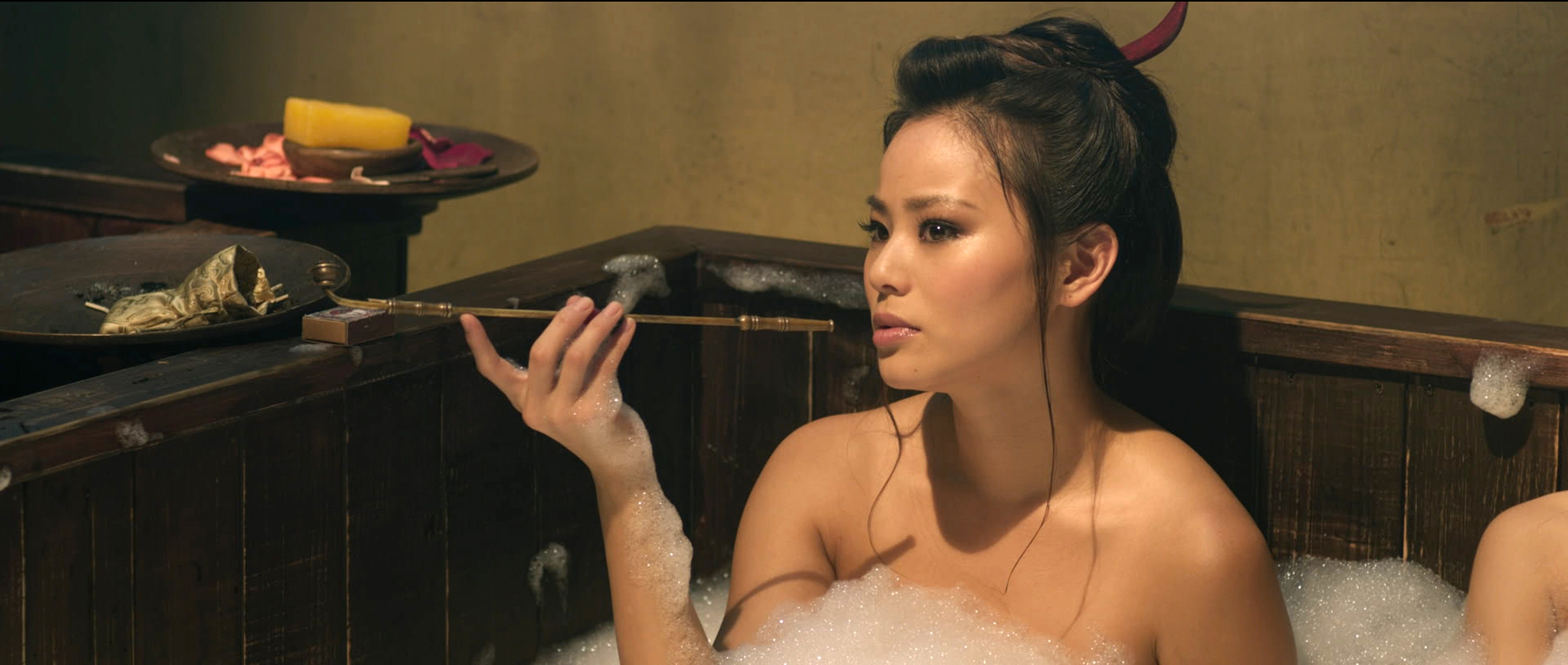 Once Upon A Time Wallpaper Iphone Jamie Chung Back As Lady Silk In The Man With The Iron