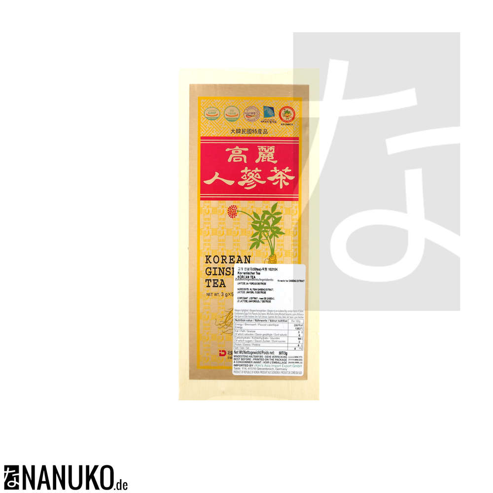 Ginseng In Deutschland Dong Il Korean Ginseng Tea 150g