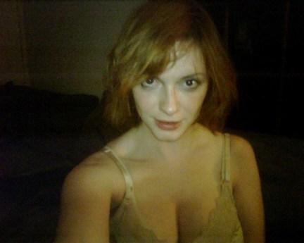 Uma das fotos de Christina Hendricks