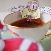 Free Christmas tea-bag printables