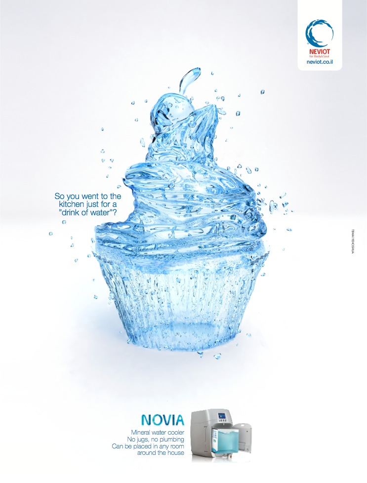 Neviot Print Advert By TBWA Cupcake Ads of the World™