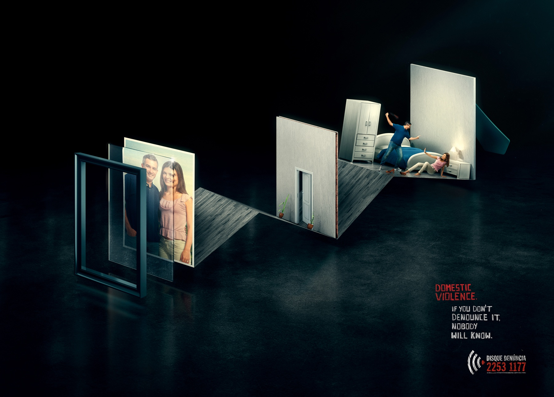 Piece Ad Disque Denúncia Print Advert By Agencia3 Domestic