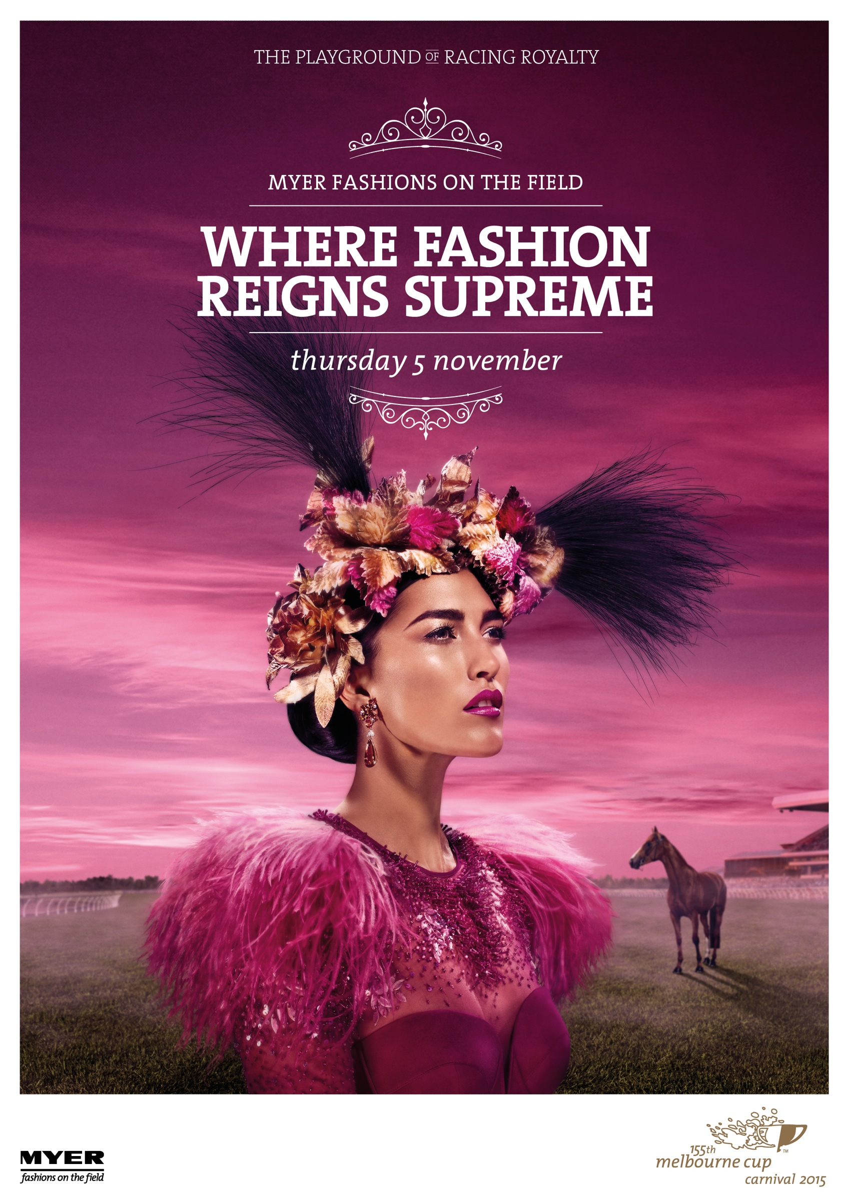 4 Poster Bed Melbourne Melbourne Cup Print Advert By Grey Fashion Ads Of The