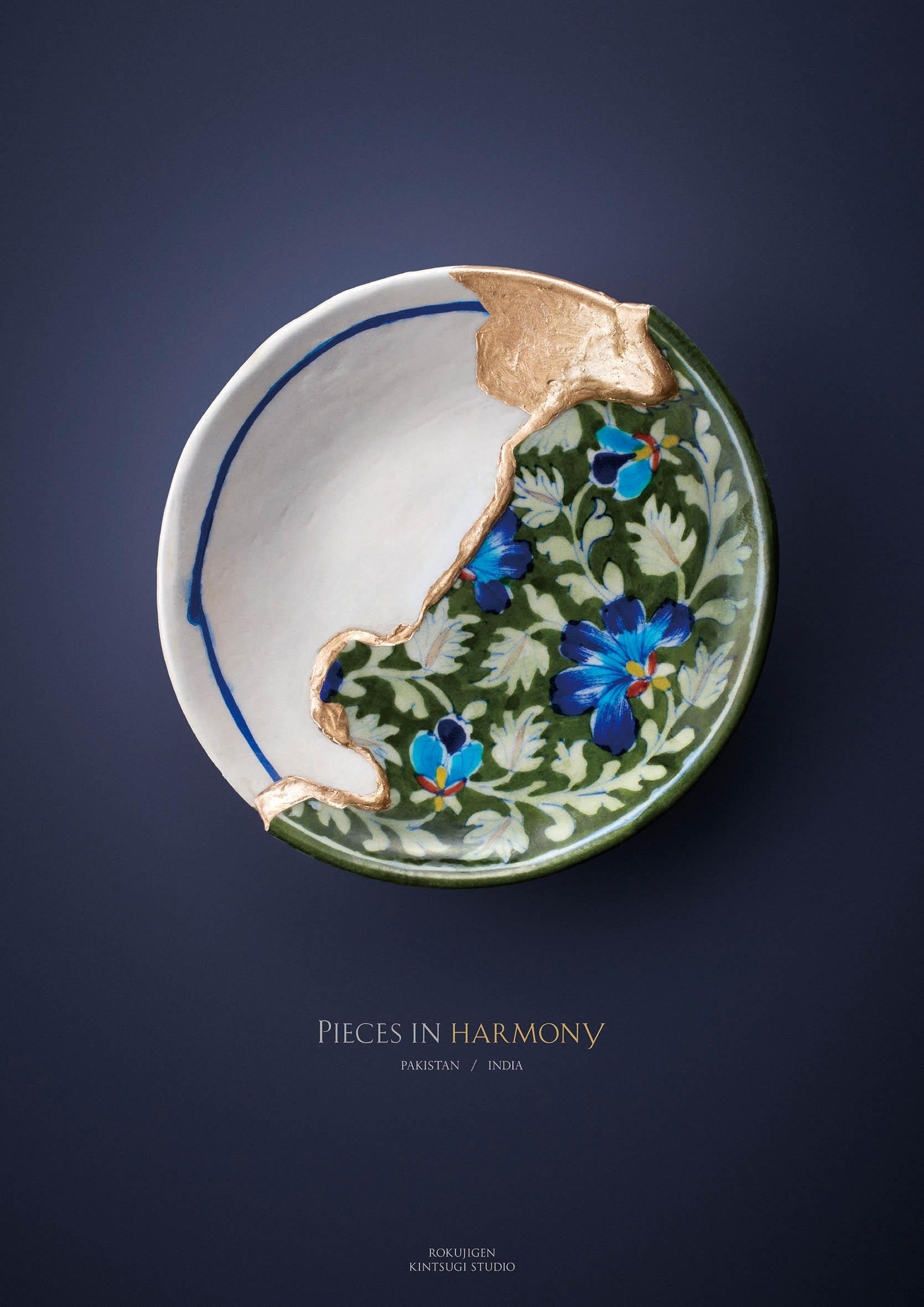 Piece Ad Rokujigen Print Advert By Bbdo Kintsugi Pieces In Harmony