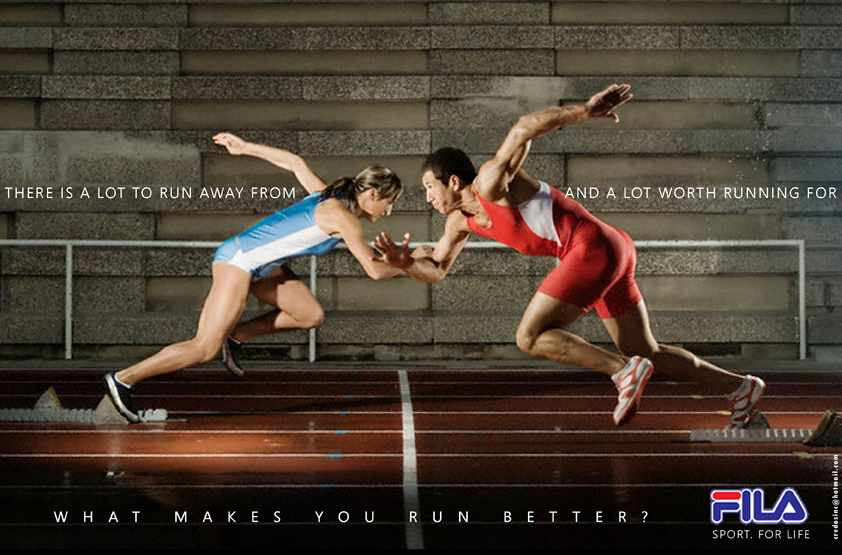 FILA - SPORT FOR LIFE | Ads of the World™