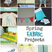 10 Spring Fabric Projects