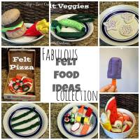 Lots and Lots of Felt Food Inspiration!