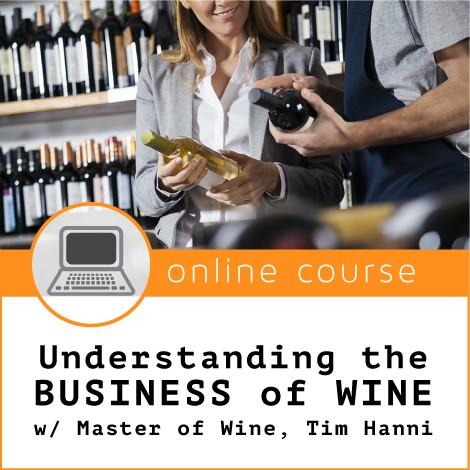 Understanding the Business of Wine Online Course Napa Valley Wine