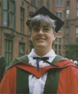 Dr Kate Durkacz at her PhD graduation